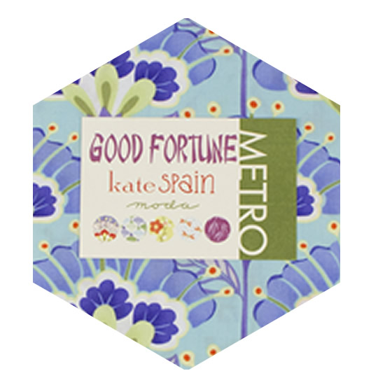 Hexagon Charm Pack - Good Fortune