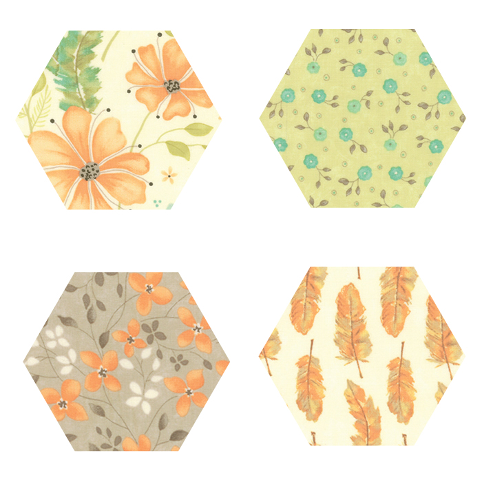 Fabric Hexagons - Refresh