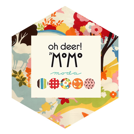Hexagon Charm Pack - Oh Deer