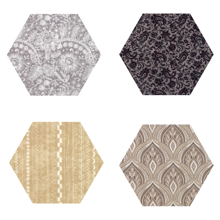 Fabric Hexagons - Maven