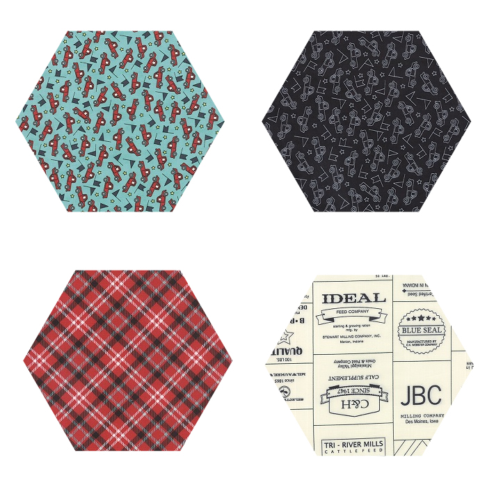 Fabric Hexagons - Feed Company