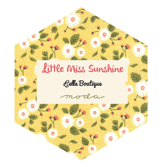 Hexagon Charm Pack - Little Miss Sunshine