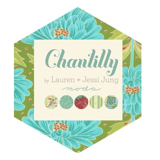 Hexagon Charm Pack - Chantilly