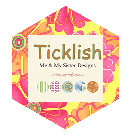 Hexagon Charm Pack - Ticklish