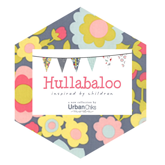 Hexagon Charm Pack - Hullabaloo