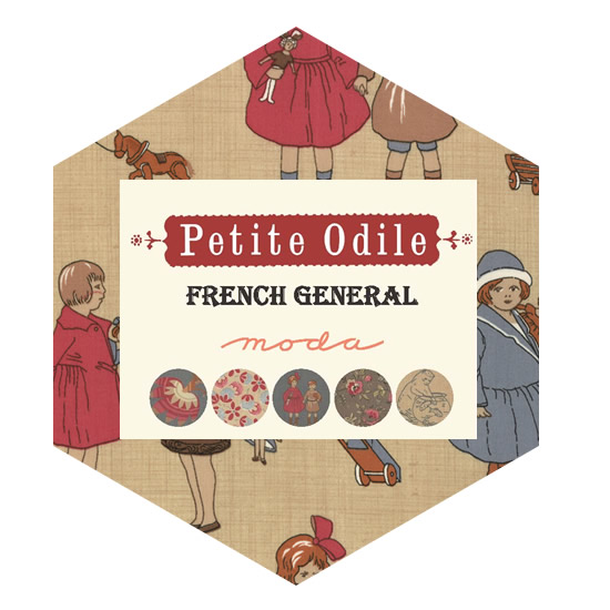 Hexagon Charm Pack - Petite Odile